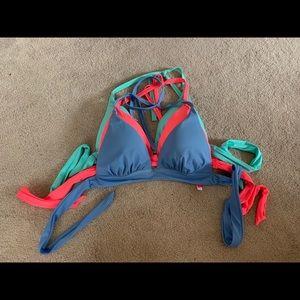 Victoria's Secret Bathing Suit Top BUNDLE Size LG